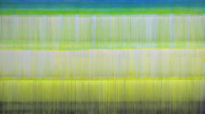 6. 4. 05, 90 x 60 cm, Acryl auf Leinwnad, 2005