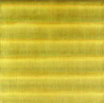 9. 1. 02, 120 x120 cm, Acryl auf Leinwand, 2002