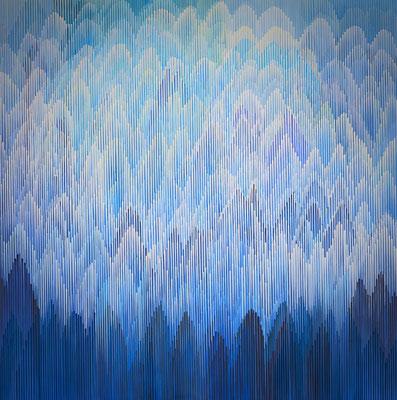 1.1.011, 150 x 150, Acryl auf Leinwand, 2011