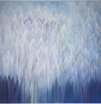 1.2.011, 150 x 150 cm, Acryl auf Leinwand, 2011