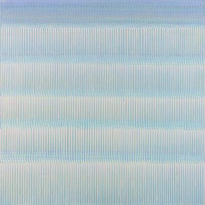 6. 1. 011, 90 x90 cm, Acryl auf Leinwand, 2011