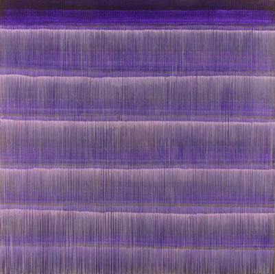 3. 2. 01, 150 x150 cm, Acryl auf Leinwand, 2001