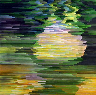 1.2.010, 80 x 80 cm, Acryl auf Leinwand, 2010
