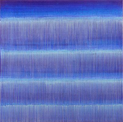 6. 2.03, 100 x100 cm, Acryl auf Leinwand, 2003