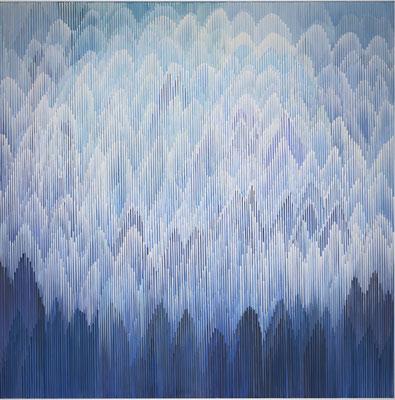 1. 1.011, 150 x150 cm, Acryl auf Leinwand, 2011