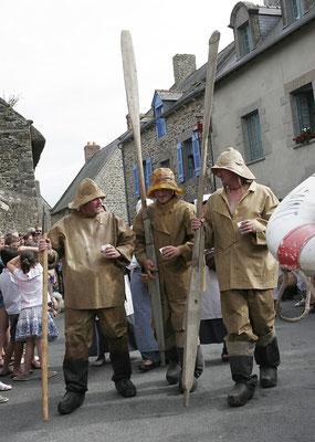 pêcheurs de  Saint Suliac