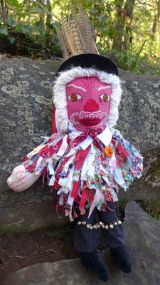 The Red leicester Morrisman, front view.