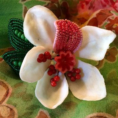 Fantastical Flower, Mixed Media