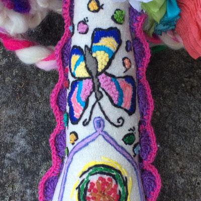 Malena's arm, detail