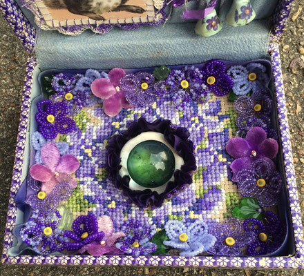 Retirement Home For A Crystal Ball (Violet Box) (Detail)