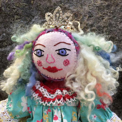 Dottie, Mixed Media Artist's Doll. NFS