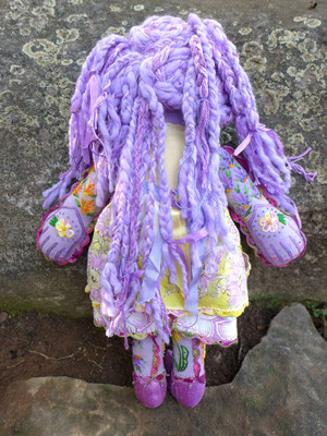The Lavender Girl, back view