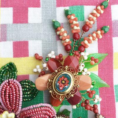 Mardi Gras Bouquet, detail