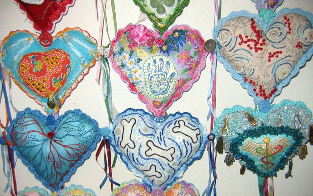 Heart Prayer. Detail.