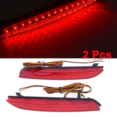 REFLECTANTES DEFENSA LED ROJO-75€