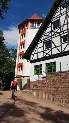 Etappenziel Hilschberghaus erreicht