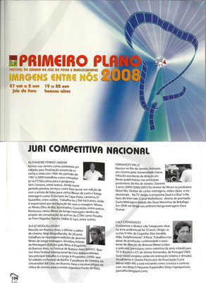 Primeiro Plano - 2008