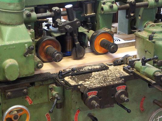 Unsere Werkstatt - Holz, Douglasie fasen