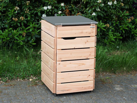 m lltonnenbox m lltonnenverkleidung holz holzweise. Black Bedroom Furniture Sets. Home Design Ideas