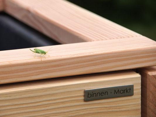 Pflanzkasten Holz Rahmen, Douglasie Natur