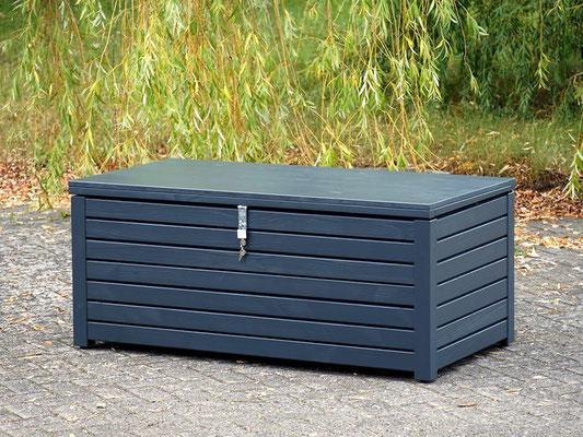 Auflagenbox / Kissenbox Holz, aOberfläche: Anthrazitgrau RAL 7016