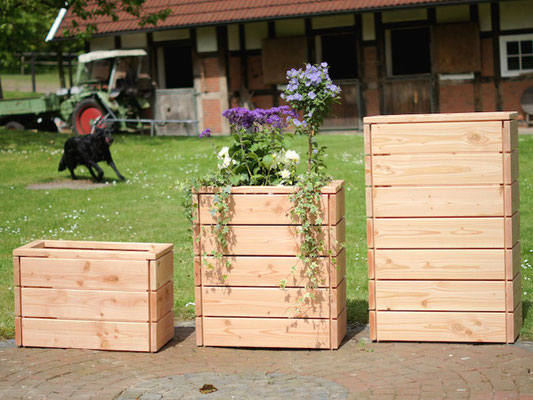 pflanzkasten aus holz made in germany holzweise. Black Bedroom Furniture Sets. Home Design Ideas