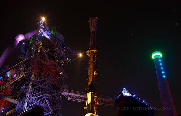 Landschaftspark Duisburg am 22.01.2014