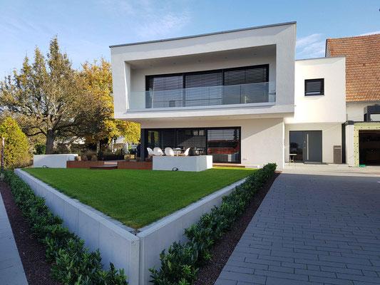 Kubischer Baustil in Rheinzabern, Baujahr 2016