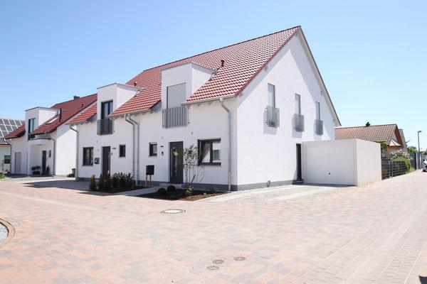 Doppelhaus in Hördt, Baujahr 2017