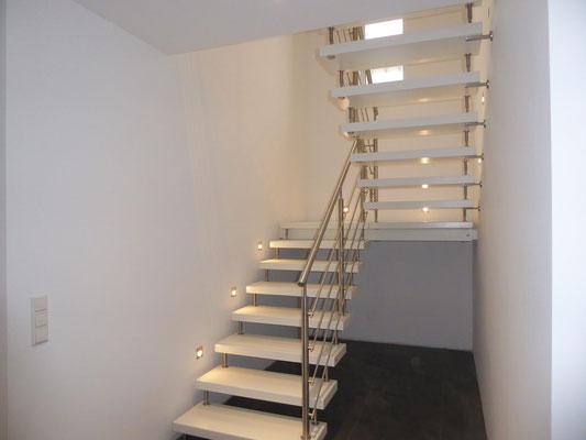 Wohnbeispiel Treppe