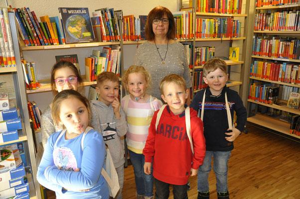 Bibliotheks-Führerschein Kindergarten Hausen a.T.