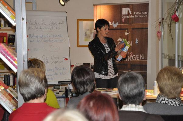 Vortrag Frau Weckenmann vom Landwirtschaftsamt zum Thema Ernährung