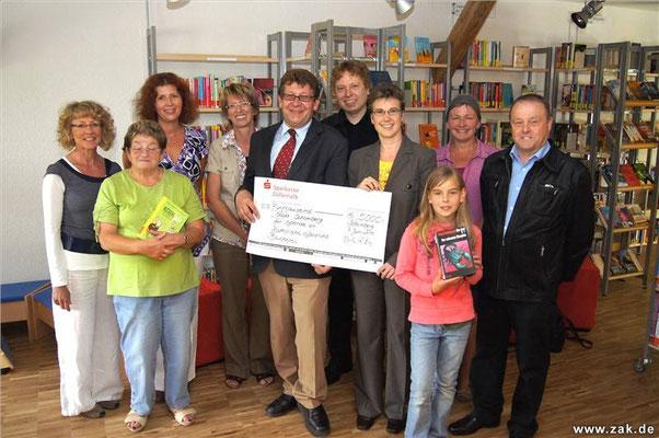 Einweihung der Bücherei in der Zehntscheuer