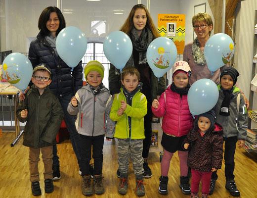 Die Vorschüler des Kindergarten Weilen u.d.R. haben am 13. März ihren Bücherei-Führerschein gemacht.