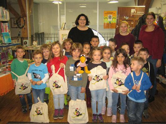Bibliotheks-Führerschein Katholischer Kindergarten Schömberg