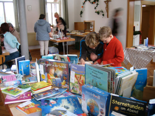 2005 Jubiläum Bücherei 5 Jahre