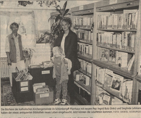 2000 Eröffnung im Pfarrhaus