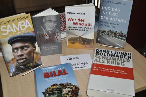 Thementisch zu Flüchtlingen und Terror