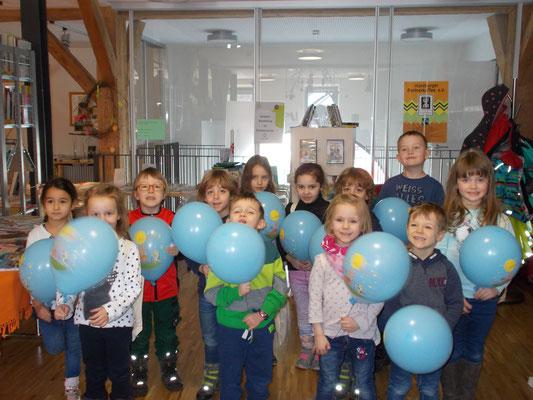 Die Kinder des Kindergarten Schörzingen