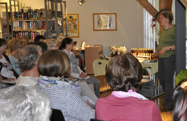 Vortrag der Kräuterpädagogin Katharina Haller