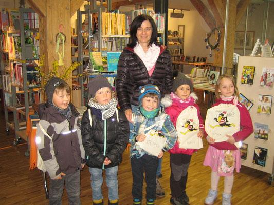 Bibliotheks-Führerschein Kindergarten Weilen u.d.R.