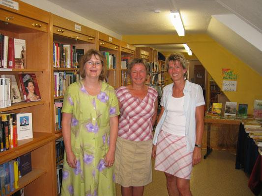 2006 Besuch von Frau Ermer, Fachstelle Diözese