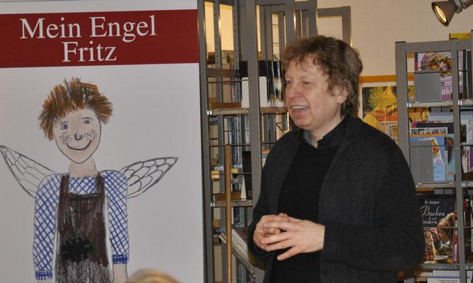 Autorenlesung Eduard Maass, Begrüßung durch Herrn Pfarrer Dr. Holdt