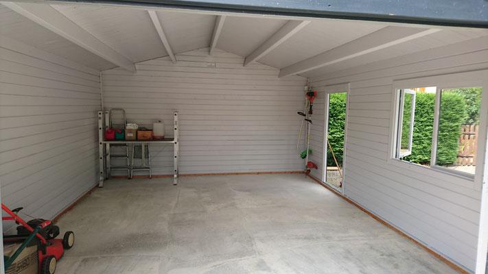 Intérieur garage Roger 19m²