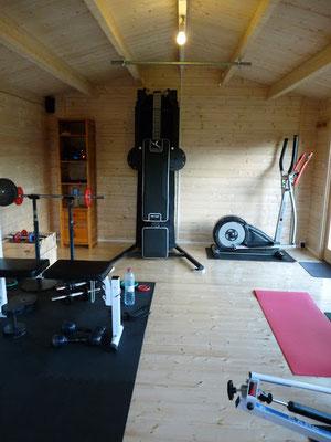 Intérieur abris IRIS 19 m²