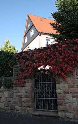 Die alte Schule in der Stadener Straße