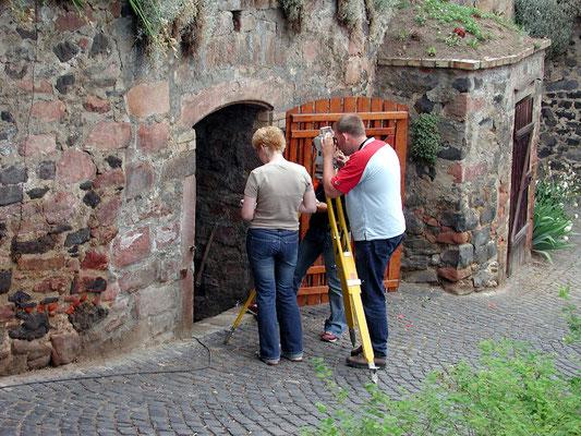erste Kellervermessung im Jahr 2002