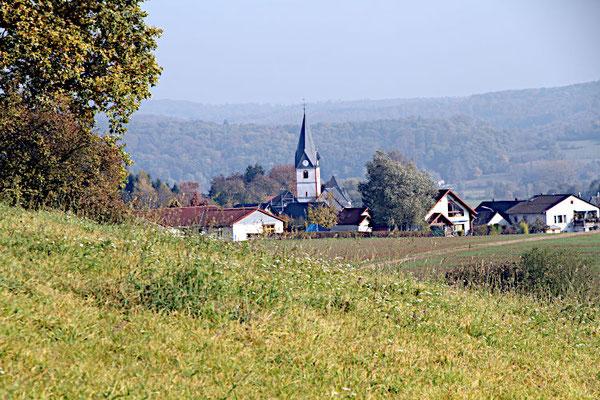 Dauernheim von Westen