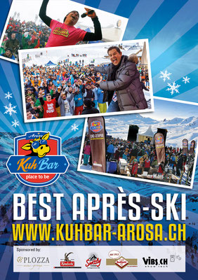 Après-Ski-Programm WINTER 2017/18 in der KuhBar Arosa