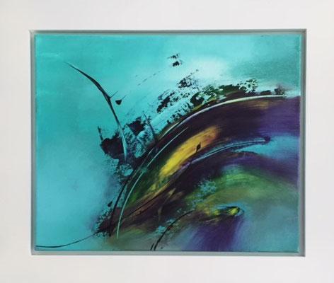 Energy, Acryl,  68 x 78 cm  550 .-
